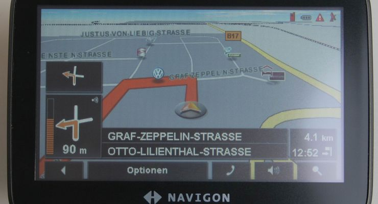 ADAC: Navigon 7210 bestes Navigerät