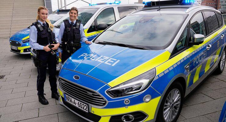 Auch Bundespolizei wählt Ford S-MAX als Streifenwagen