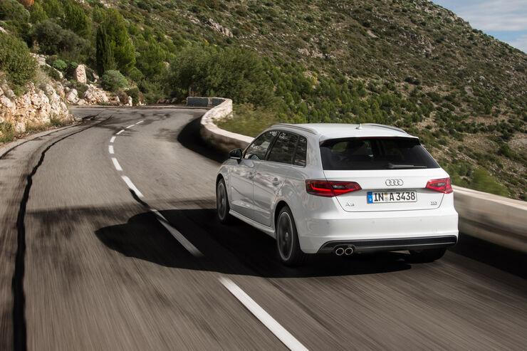 Audi A3 Sportback, Neuvorstellungen