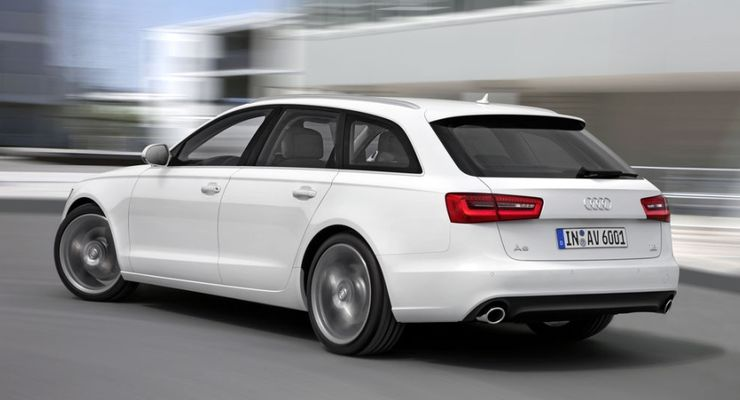 Audi A6 Avant, Modelljahr 2012