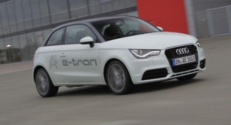 Audi e-tron steht in den Startlöchern