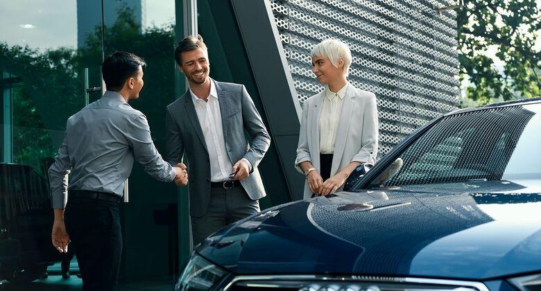 Audi on Demand, Carsharing, Mietwagen, Autohandel, Fahrzeugübergabe, Mietwagen, Autokauf