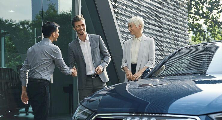 Audi on demand.