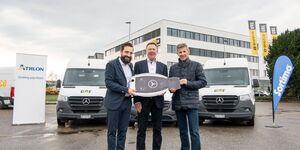 Avesco übernimmt 205 Mercedes-Transporter