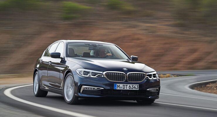 BMW 520d Efficient Dynamics Edition
