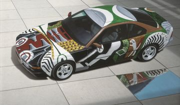 BMW 850 Art Car
