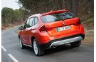 BMW X1, Heck