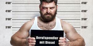 Berufspendler mit Diesel