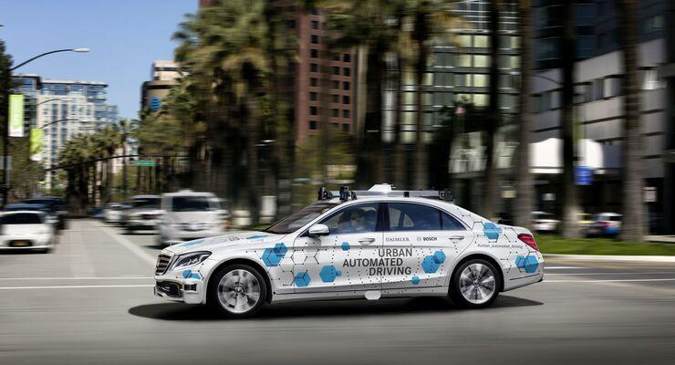 Bosch Daimler Robotertaxi