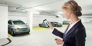Bosch perfectly keyless system, virtueller Autoschlüssel, App