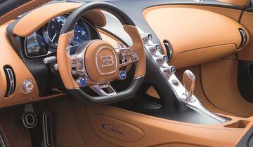 Bugatti Chiron Innenraum