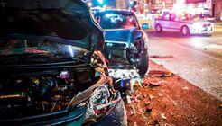 Car Crash with police