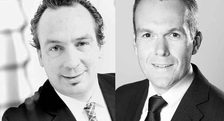 Christoff Kauff Volker Zens  Vetriebsdirektoren Euromaster