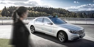 CooperativeCar Mercedes Benz