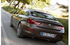 Das BMW 6er Gran Coupé von hinten