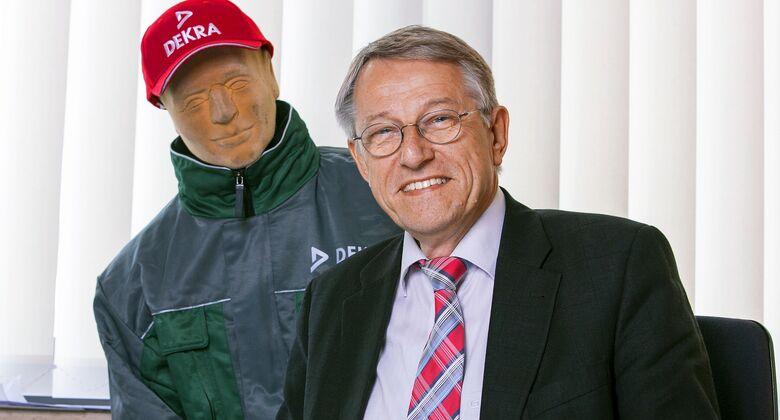Dekra-Unfallforscher Jörg Ahlgrimm