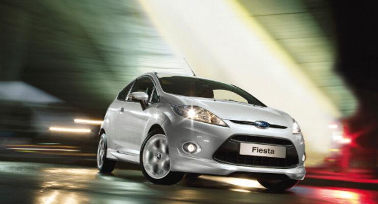 Der Ford Fiesta Sport tritt an