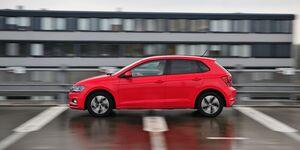 Der VW Polo GTI fähr nun weiter.