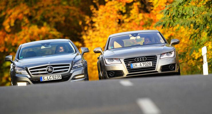 Dienstwagen-Steuer, Mercedes, Audi