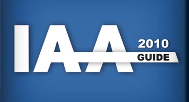 ETM Verlag bringt die IAA-Guide App 2010