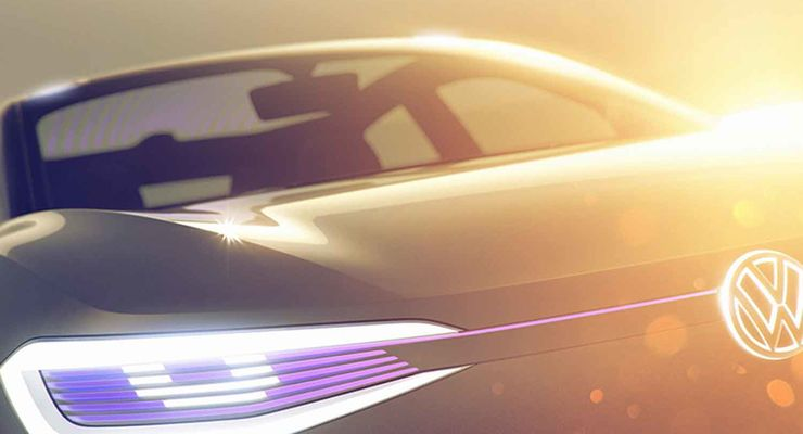 Elektro-Studie von VW