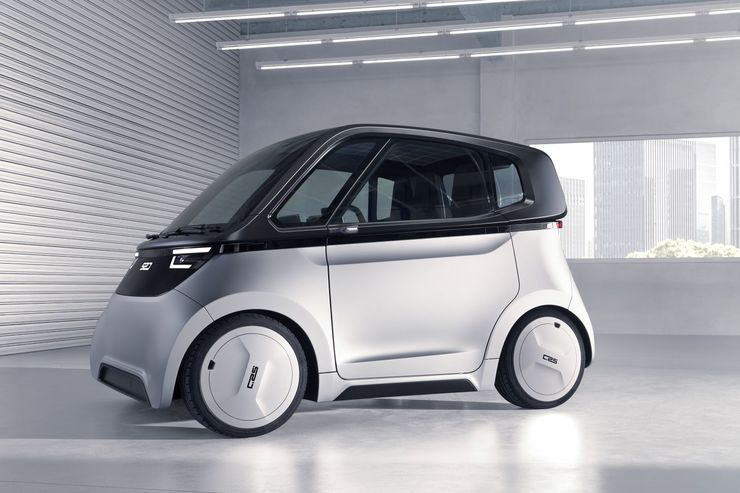 FEV Sven E-Auto-Konzept 2019