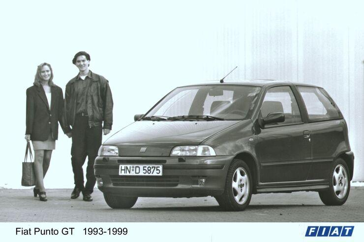 Fiat Punto 1993 Werbeplakat.