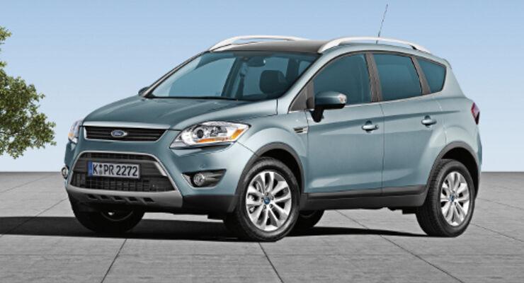 Ford Kuga bei Betriebskosten vorne