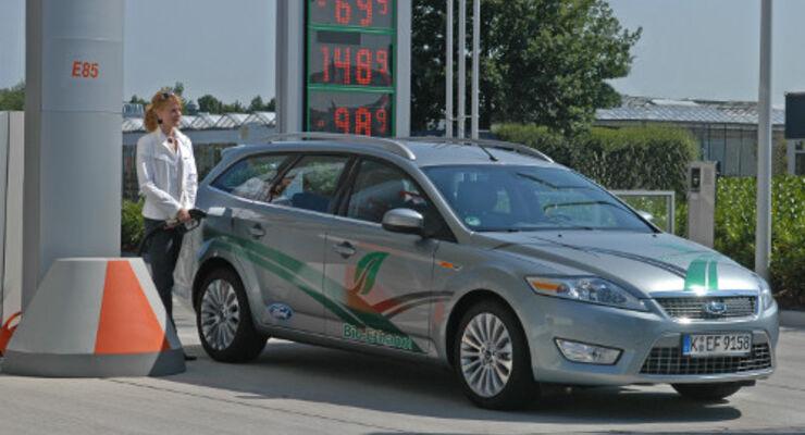 Ford: Nummer eins bei Flexifuel-Autos