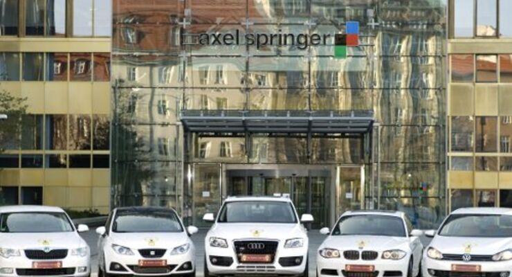 Goldenes Lenkrad: VW-Konzern räumt ab