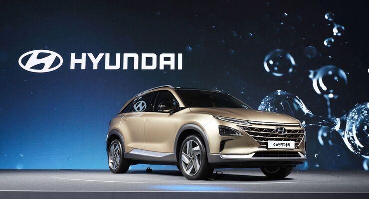 Hyundai Brennstoffzellenauto
