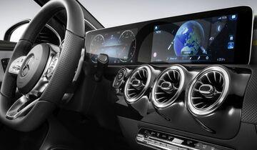 Interieur Cockpit Mercedes A-Klasse 2018