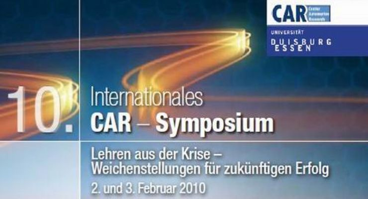 Internationales CAR-Symposium am 2. und 3. Februar
