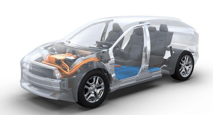 Kooperation von Toyota und Subaru
