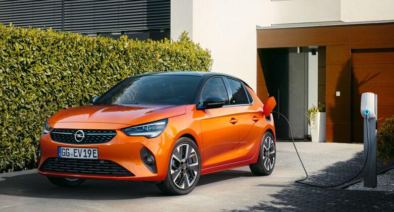 Ladepaket für Opel-Kunden