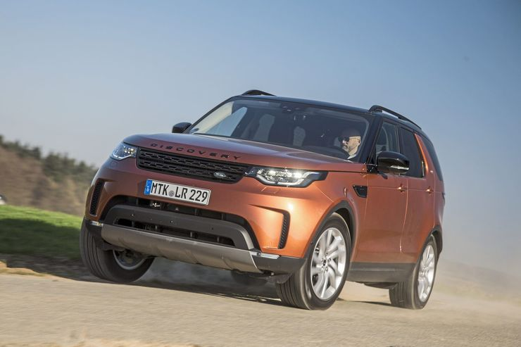 Land Rover Discovery TD4 Allrad 2017