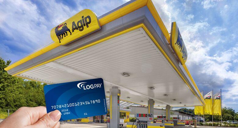 Logpay und Agip neue Stationen