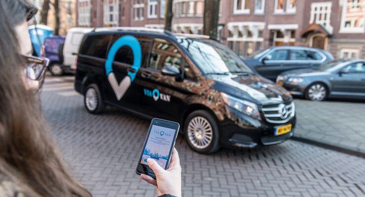Markteintritt: ViaVan startet App-basierten On-Demand Ridesharing-Dienst in Amsterdam