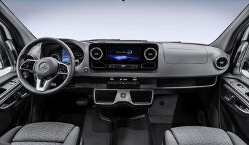 Mercedes-Benz Vans: Sprinter Innovation Campus: Segment-Definition in dritter Generation