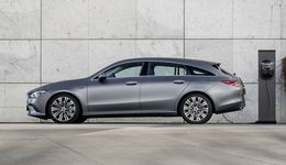 Mercedes CLA Shooting Brake  2020, Plug-in Hybrid, Ladestation, Ladesäule, laden, Kabel
