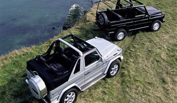 Mercedes G-Klasse Cabrio