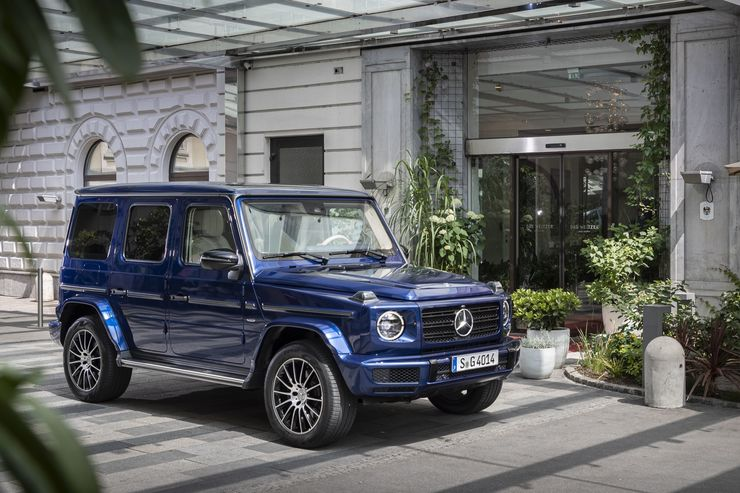 Mercedes G-Klasse Stronger than time