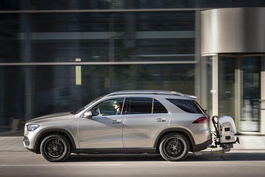 Mercedes GLE Abgastest