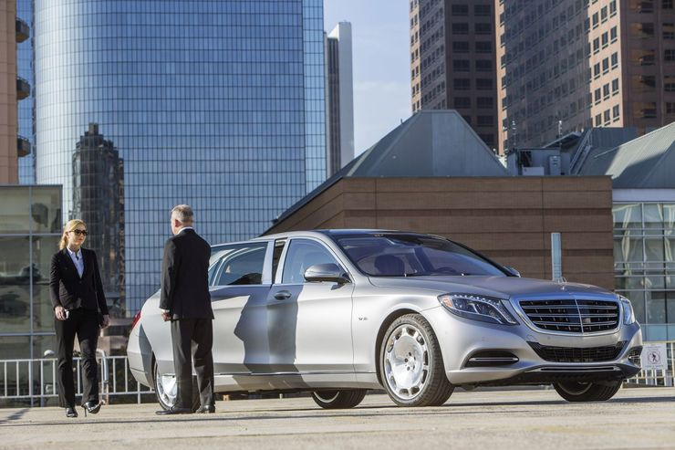 Mercedes Maybach S 600