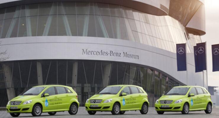 Mercedes startet Brennstoffzellenmarathon