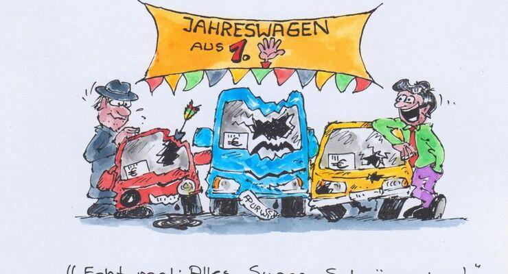 Mietwagen, Jareswagen, Gebrauchtwagen
