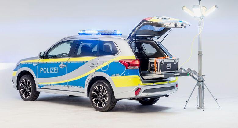 Mitsubishi Outlander Polizei 2020