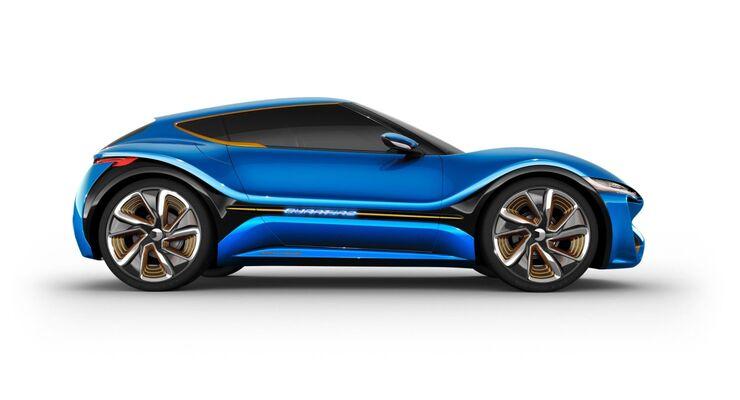 Nanoflowcell Quantino Elektroauto E-Auto