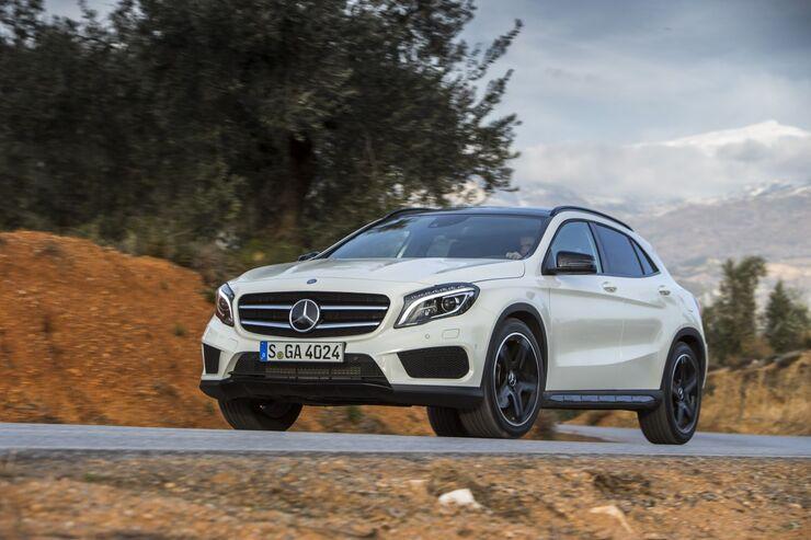 Neuer Mercedes GLA