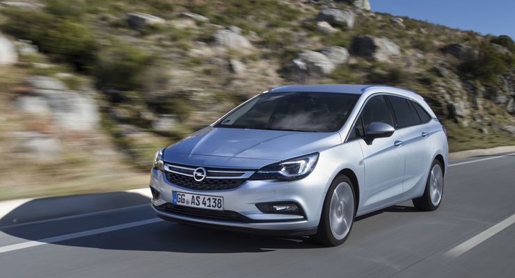 Opel Astra Sports Tourer 1.6 D 2015
